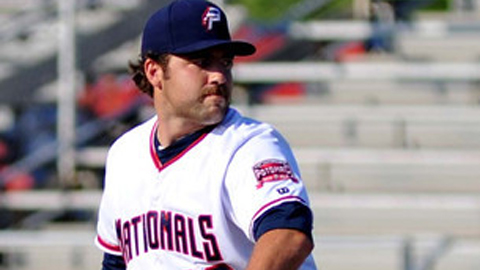 Nathan Karns is 5-2 with a 2.12 ERA in eight starts for Potomac.