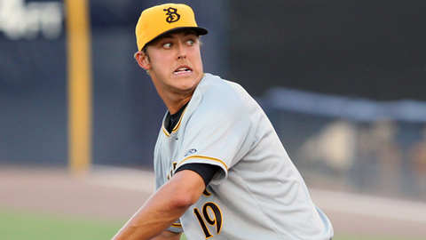Jameson Taillon is 5-7 with a 4.07 ERA in 20 starts for Bradenton.